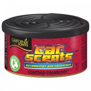 Concord Cranberry - California CarScents Duftdose für das Auto