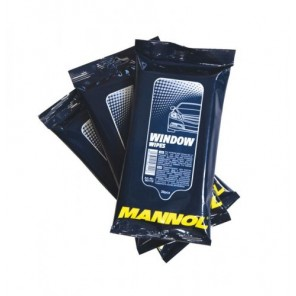 Mannol Window Wipes 30St/Packung