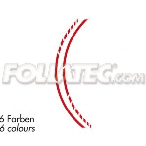 Foliatec PIN STRIPING RACING, rot