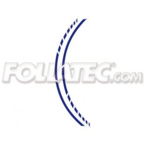 Foliatec PIN STRIPING RACING, blau