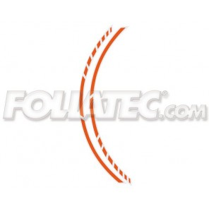 Foliatec PIN STRIPING RACING, orange