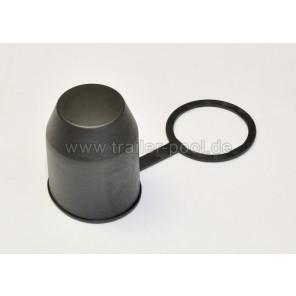 Trailer Pool Schutzkappe mit Stangehalterung schwarz