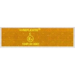 Trailer Pool 4 Meter Reflexfolie, gelb, 50 mm breit