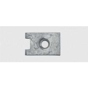Blechmutter VAG 3,5 / 0,7 - 1,75 mm, verzinkt 4Stk.