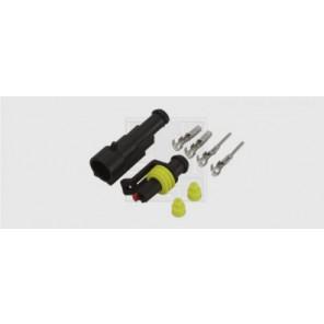 Superseal Steckverbinder-Set 1-polig, 1 x 1,5 mm², DIN 40050-9