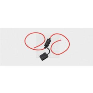 Sicherungshalter für Flachstecksicherungen, mit Kabel 2-25A /2,5mm² 1Stk.