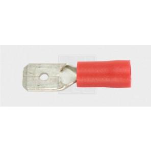 Flachsteckzunge 4,8/0,5-1,5mm², rot 7Stk.