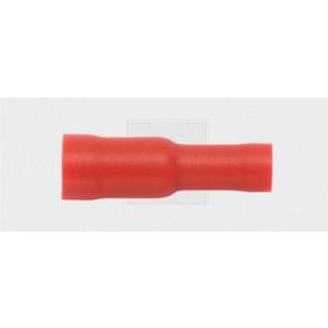 Rundsteckhülse 4/0,5-1,5mm², rot 5Stk.