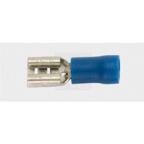 Flachsteckhülse Steckverteiler 6,3/1,5-2,5mm², blau 5Stk.