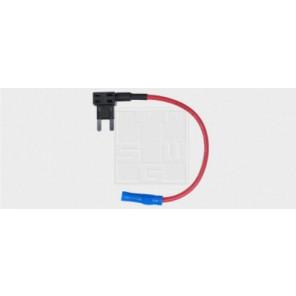 Sicherungshalter für Flachstecksicherungen Mini, mit Kabel 15A / 1,5mm² 1Stk.