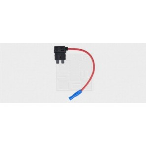Sicherungshalter für Flachstecksicherungen Standard, mit Kabel 15A / 1,5mm² 1Stk.