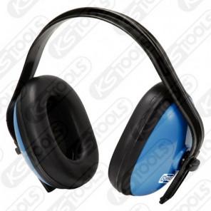 KS Tools Kapselgehörschutz, blau, SNR-Dämmwert 25dB