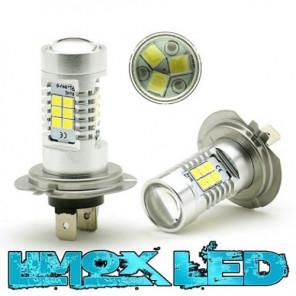 LED Nebelscheinwerfer Birne Lampe H7 4G Weiß