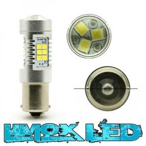 LED Signallampe P21W BA15S 4G Weiß