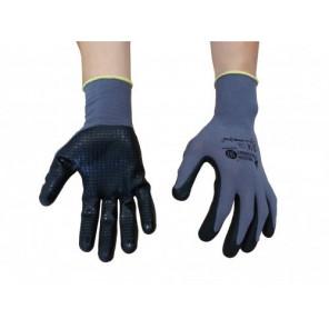 Mechaniker-Handschuhe mit Nitrilnoppen Gr.11