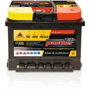Panther Car +30% A+45 Typ IT Autobatterie 12V 45Ah 400A