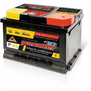 Panther Car +30% A+45 Typ I Autobatterie 12V 45Ah 400A