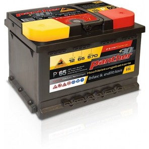 Panther Car +30% A+65 Typ III Autobatterie 12V 65Ah 570A
