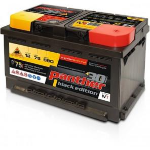 Panther Car +30% A+75 Typ IVT Autobatterie 12V 75Ah 680A