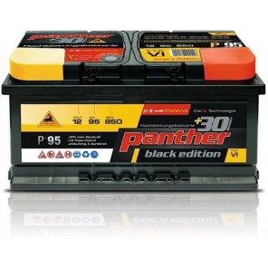 Panther Car +30% A+95 Typ VI Autobatterie 12V 95Ah 850A