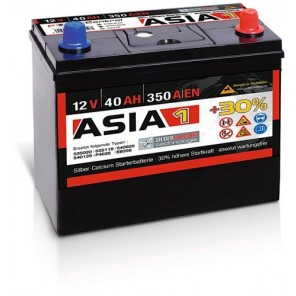 Panther ASIA 01 +30% A1 40Ah 350A Autobatterie 12V