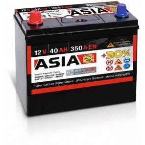 Panther ASIA 02 +30% A2 40Ah 350A Autobatterie 12V