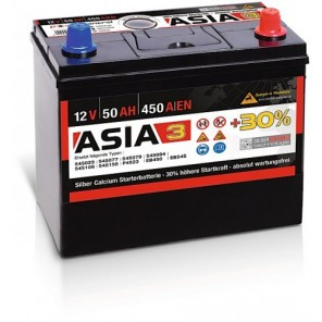 Panther ASIA 03 +30% A3 50Ah 450A Autobatterie 12V