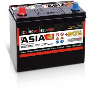 Panther ASIA 04 +30% A4 50Ah 450A Autobatterie 12V
