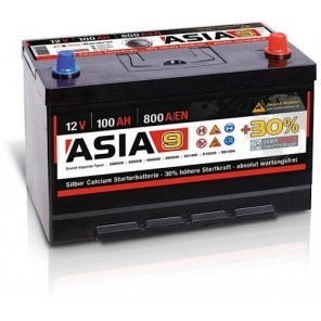 Panther ASIA 09 +30% A9 100Ah 800A Autobatterie 12V