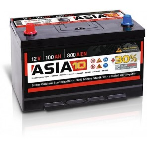 Panther ASIA 10 +30% A10 100Ah 800 Autobatterie 12V