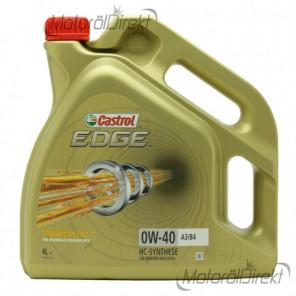 Castrol Edge Titanium FST 0W-40 A3/B4 Motoröl 4l Kanne