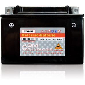 Panther Motorradbatterie 12V 8Ah