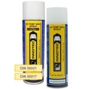 Innotec Unterboden- & Hohlraumschutz   Hi-Temp Wax - Spray - Schwarz (6100) 500ml