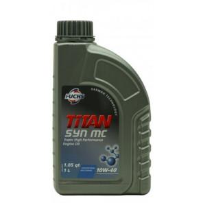 Fuchs TITAN SYN MC SAE 10W-40 Diesel & Benziner Motoröl 1Liter