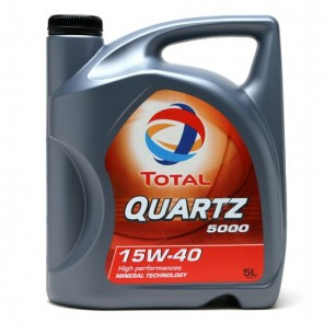 Total QUARTZ 5000 15W-40 Motoröl 5l