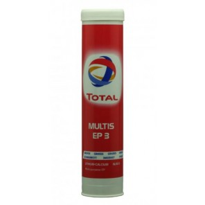 Total Multis EP 3 Mehrzweck-Hochdruckfett (EP-Lithium/Calcium-Schmierfette | MB 267.0) Braun 400g