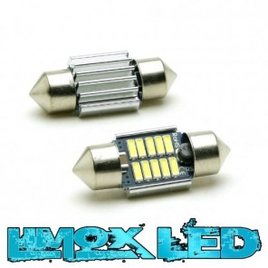 LED Soffitte C5W 31mm 10x 4014 SMD Weiß