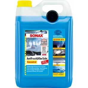 Sonax 03325050 AntiFrost & KlarSicht CLASSIC Citrusduft Konzentrat 5Liter