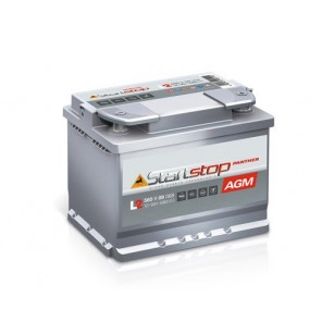 Panther Start-Stop Plus AGM Autobatterie 12V 60Ah 680A