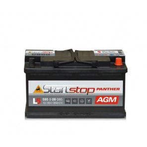 Panther Start-Stop Plus AGM Autobatterie 12V 95Ah 850A