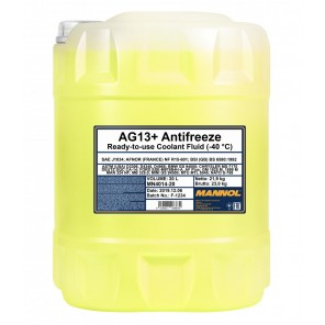 Mannol Kühlerfrostschutz Antifreeze AG13+ -40 Advanced Fertigmischung 20l Kanister