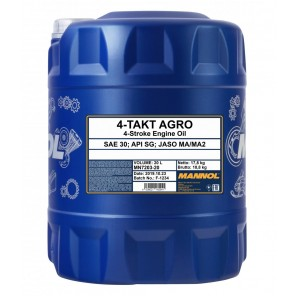 MANNOL 4-Takt Agro SAE 30 20l Kanister