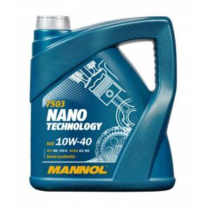MANNOL Nano Technology 10W-40 Diesel & Benziner Motoröl 5Liter
